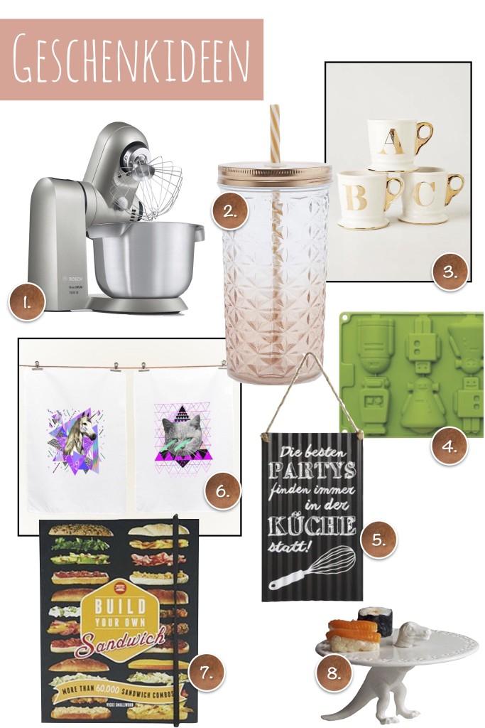 Geschenkideen für Küchen & Backfans