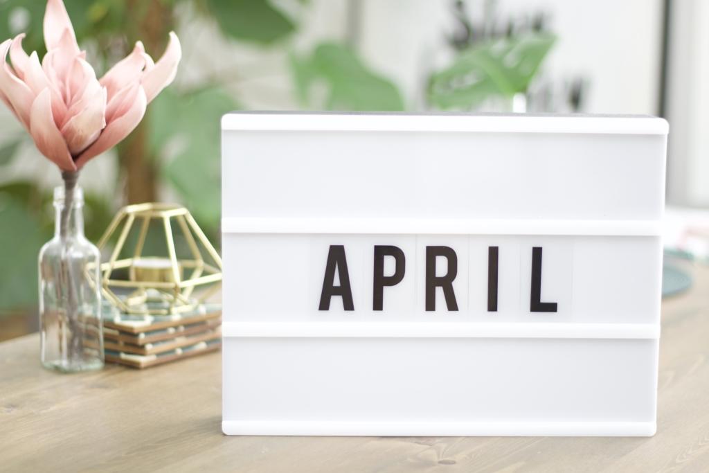 Titelbild: 10 Dinge, die man im April tun kann -Lifestyle Blog Leipzig