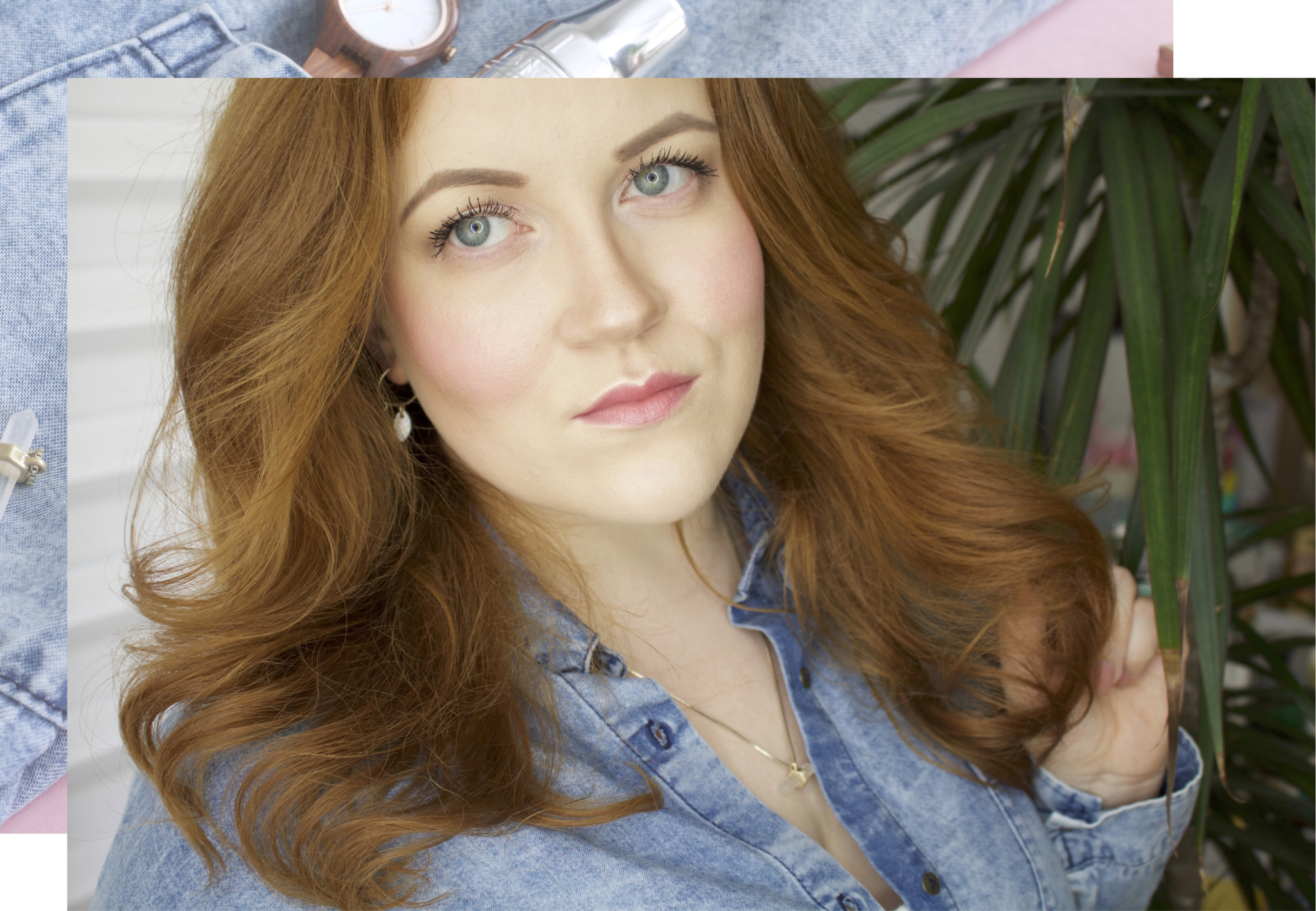 Titelbild: Mein Oster Make-up Look: peach & glowy mit Lancome & YSL - Beauty Blog Leipzig
