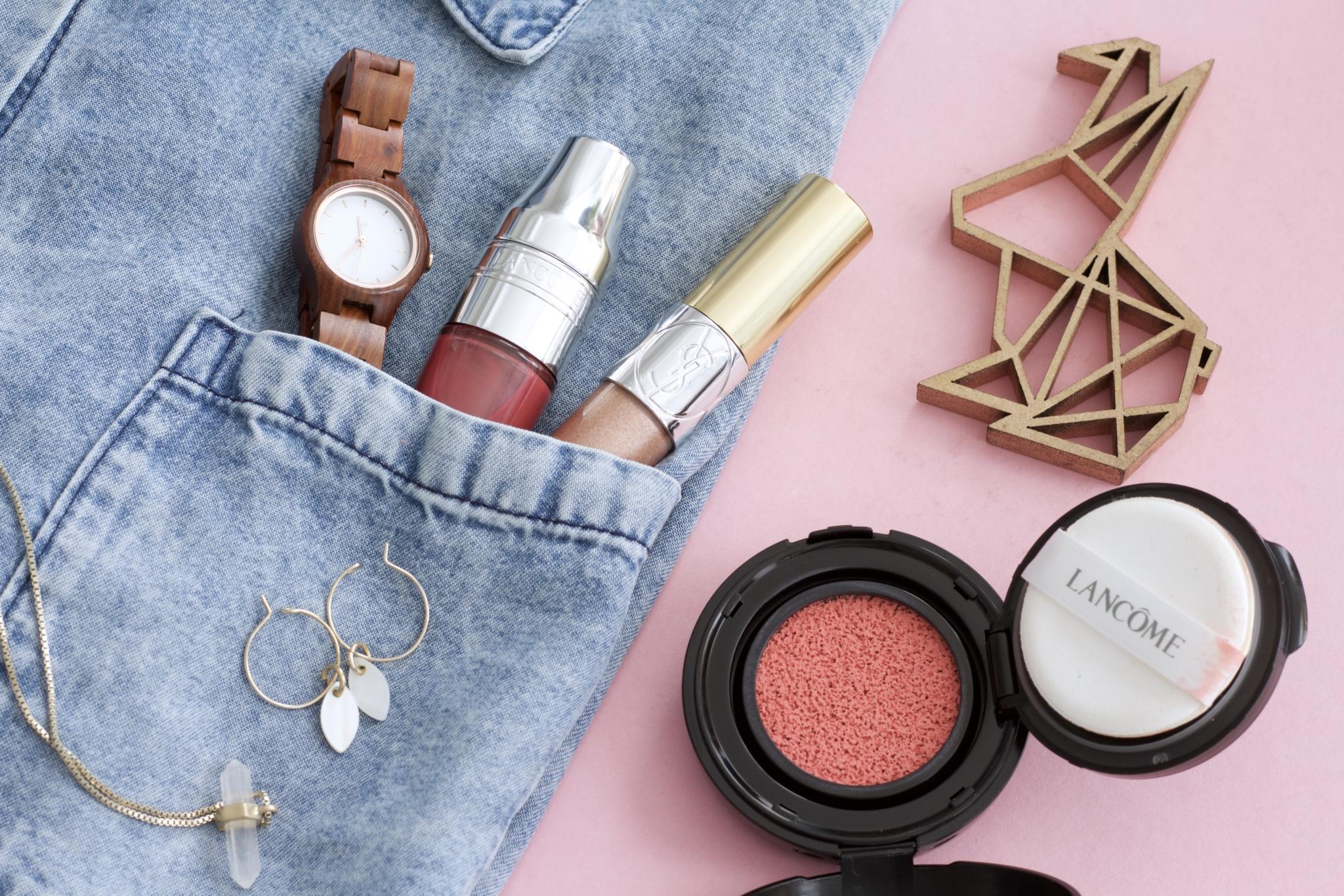 Verwendete Produkte_ Mein Oster Make-up Look: peach & glowy mit Lancome & YSL - Beauty Blog Leipzig