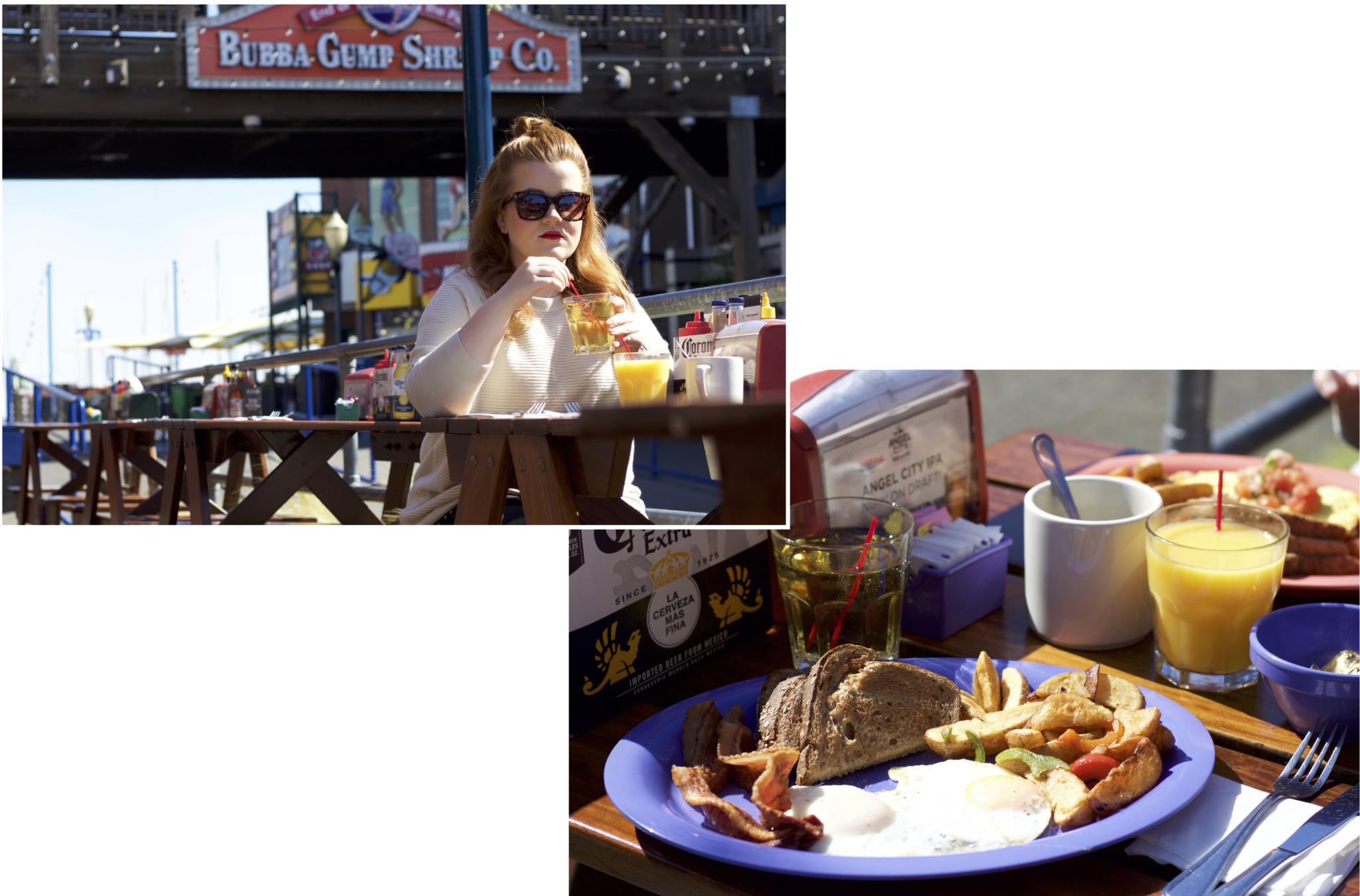 Frühstück im Wipe Out am Pier 39 - Ein Tag am Pier 39 in San Francisco - Erlebnisse und 5 Tipps für einen Tag am Pier 39 - Reise Blogger Tipps