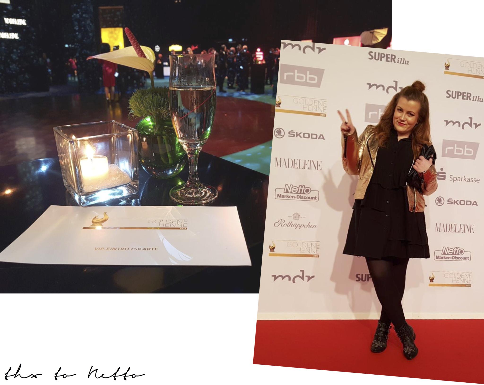 Goldene Henne 2017 - Roter Teppich und VIP Lounge