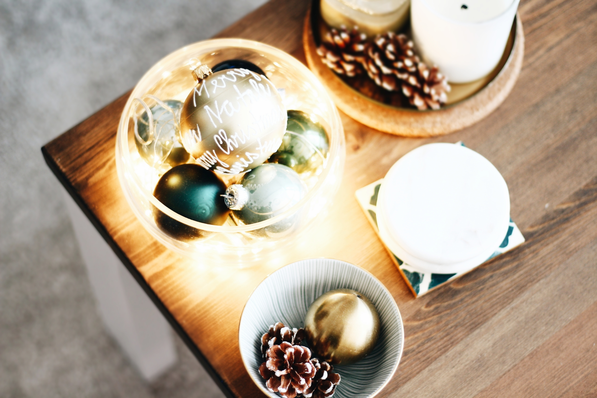 Lichterketten integrieren - 5 Tipps & Ideen für die eigene Weihnachtsdekoration - Lifestyle Blog Leipzig