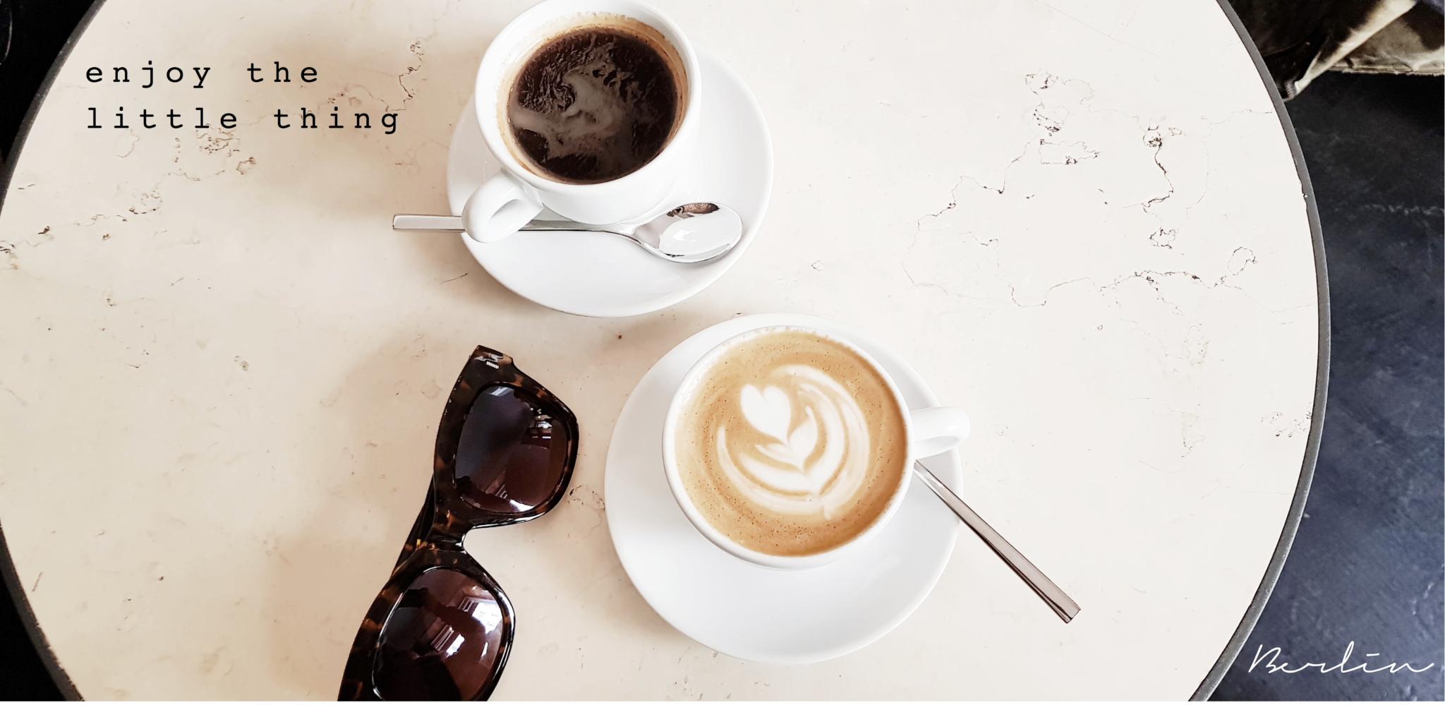 Kaffee in Berlin mit Instagram-Tauglichem Interior