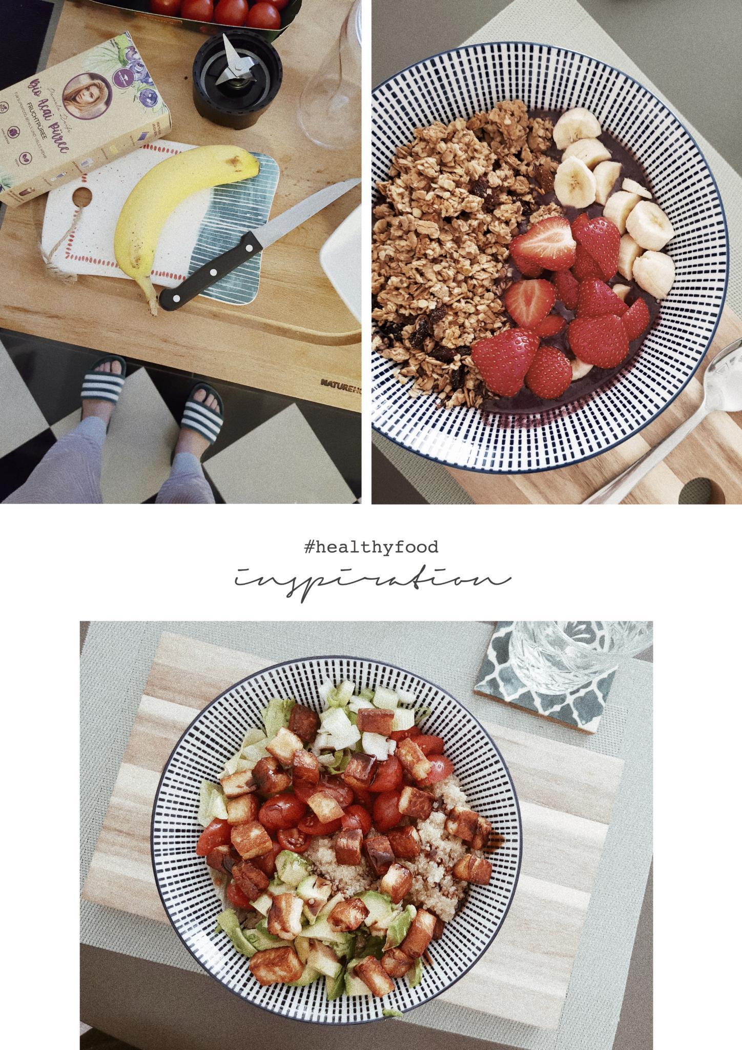 Inspiration für gesundes Essen in einer Bowl