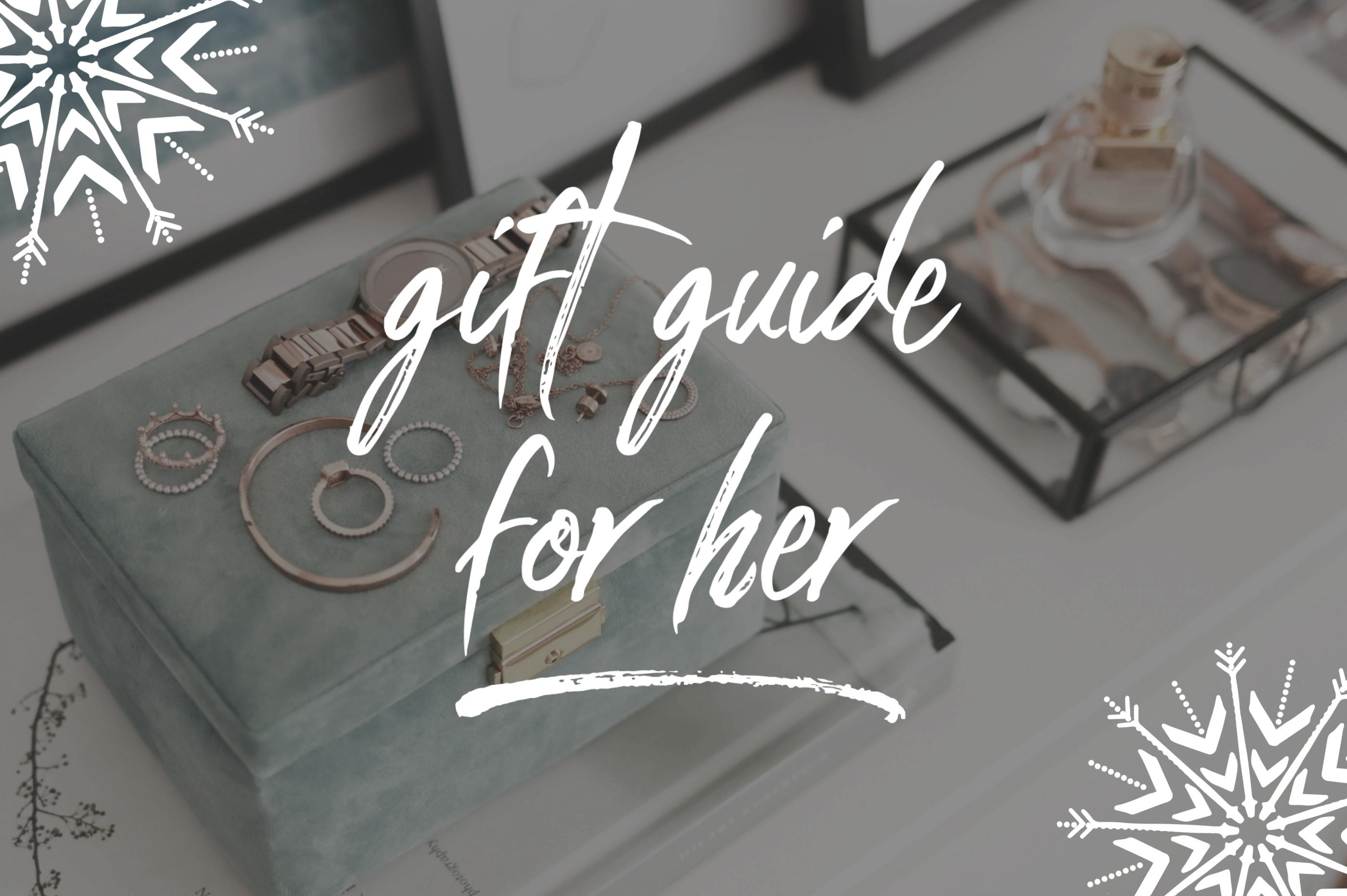 Weihnachtsgeschenke für Frauen: 30 originelle & wunderschöne Ideen für das perfekte Weihnachtsgeschenk für Sie