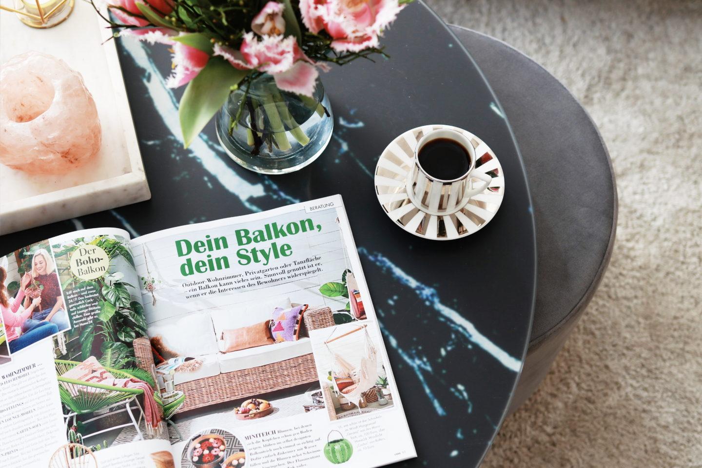 Artikel: Dein Balkon, dein Style - Frühlingshafte Wohnideen mit dem COSY Magazin   Anzeige
