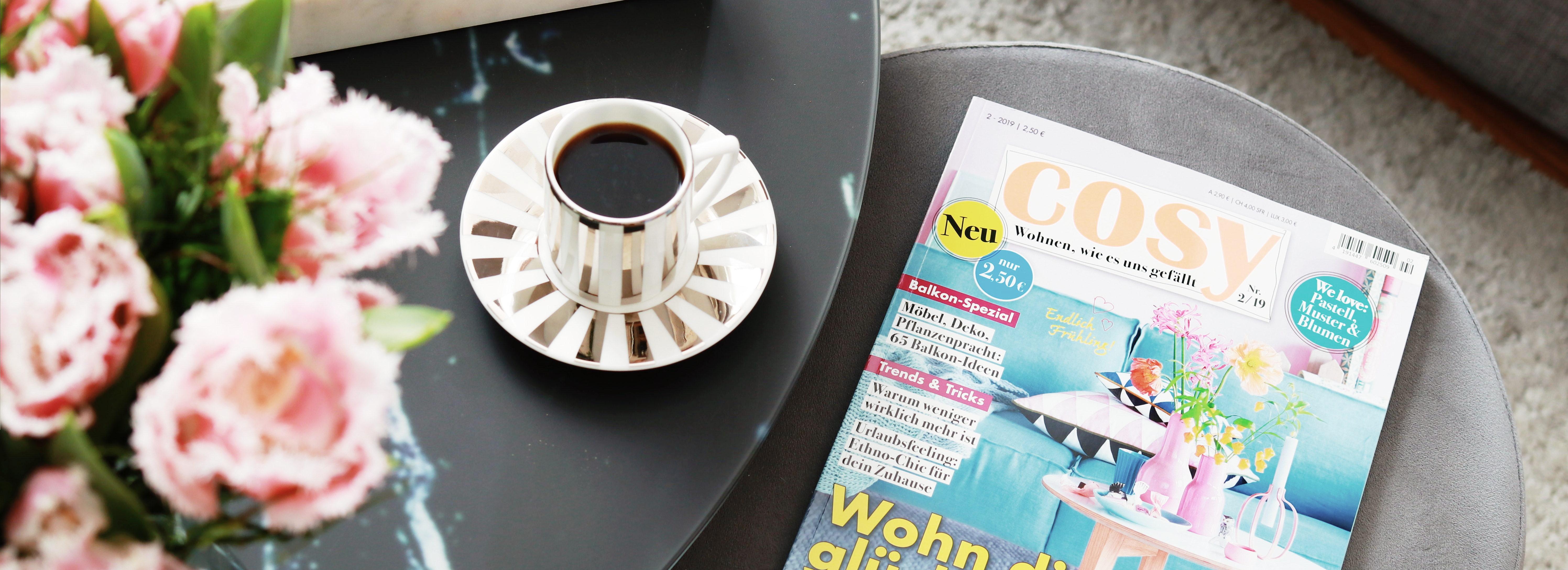 Frühlingshafte Wohnideen mit dem COSY Magazin   Anzeige