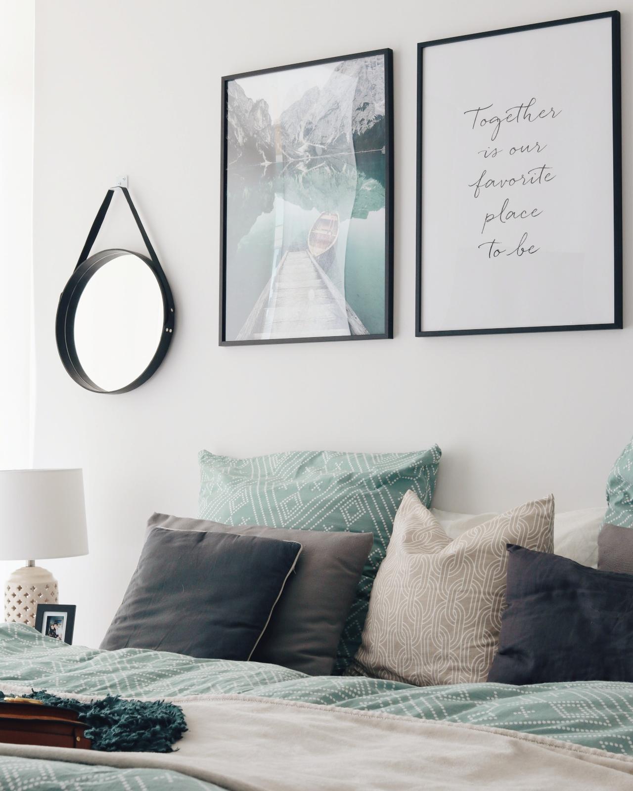 Moderne Wandbilder für das Schlafzimmer: Tipps für mehr Gemütlichkeit