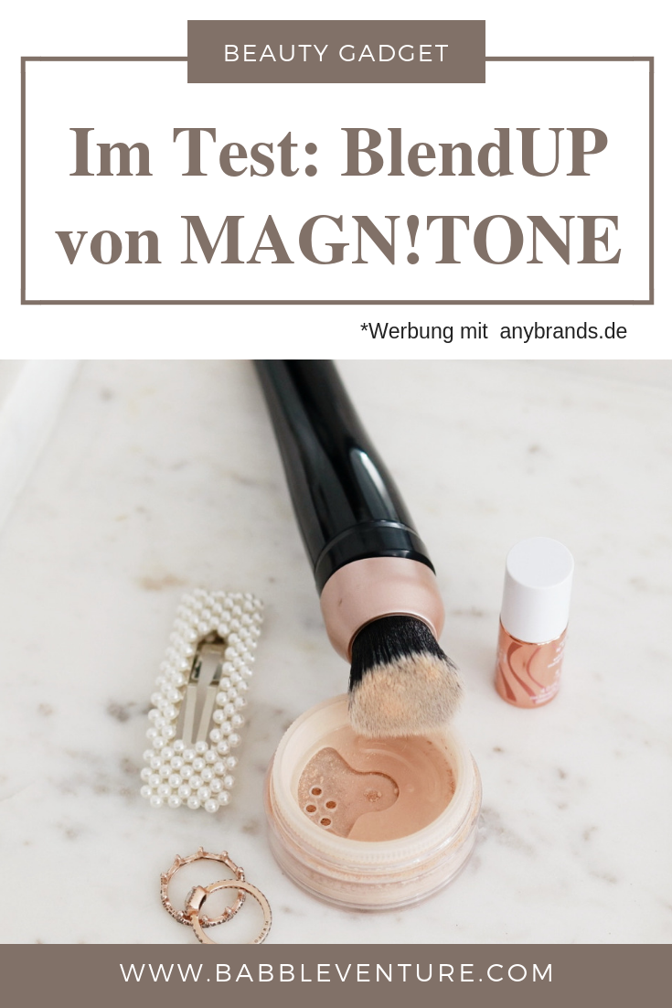 Pinterest: Der BlendUP Make-Up Pinsel von Magnitone London