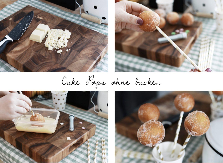 Schnelle & Einfache Cake Pops ohne backen - Anleitung