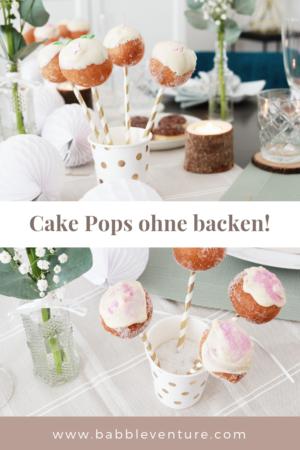 Schnelle & Einfache Cake Pops ohne backen