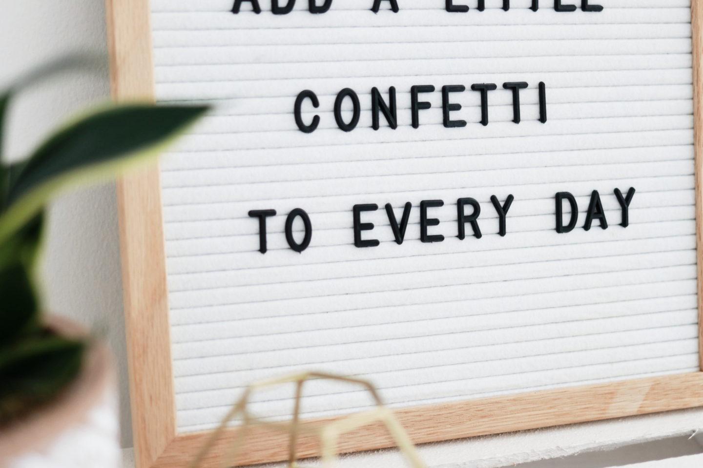 Wohntrend Letterboard Sprüche und Dekoideen