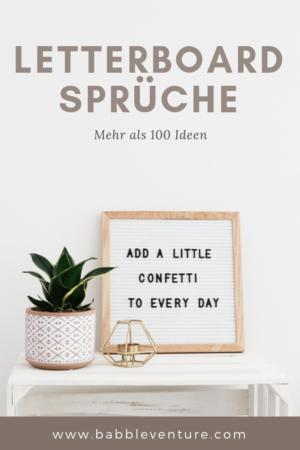 Mehr als 100 Letterboard Sprüche: cool, witzig und nachdenklich!
