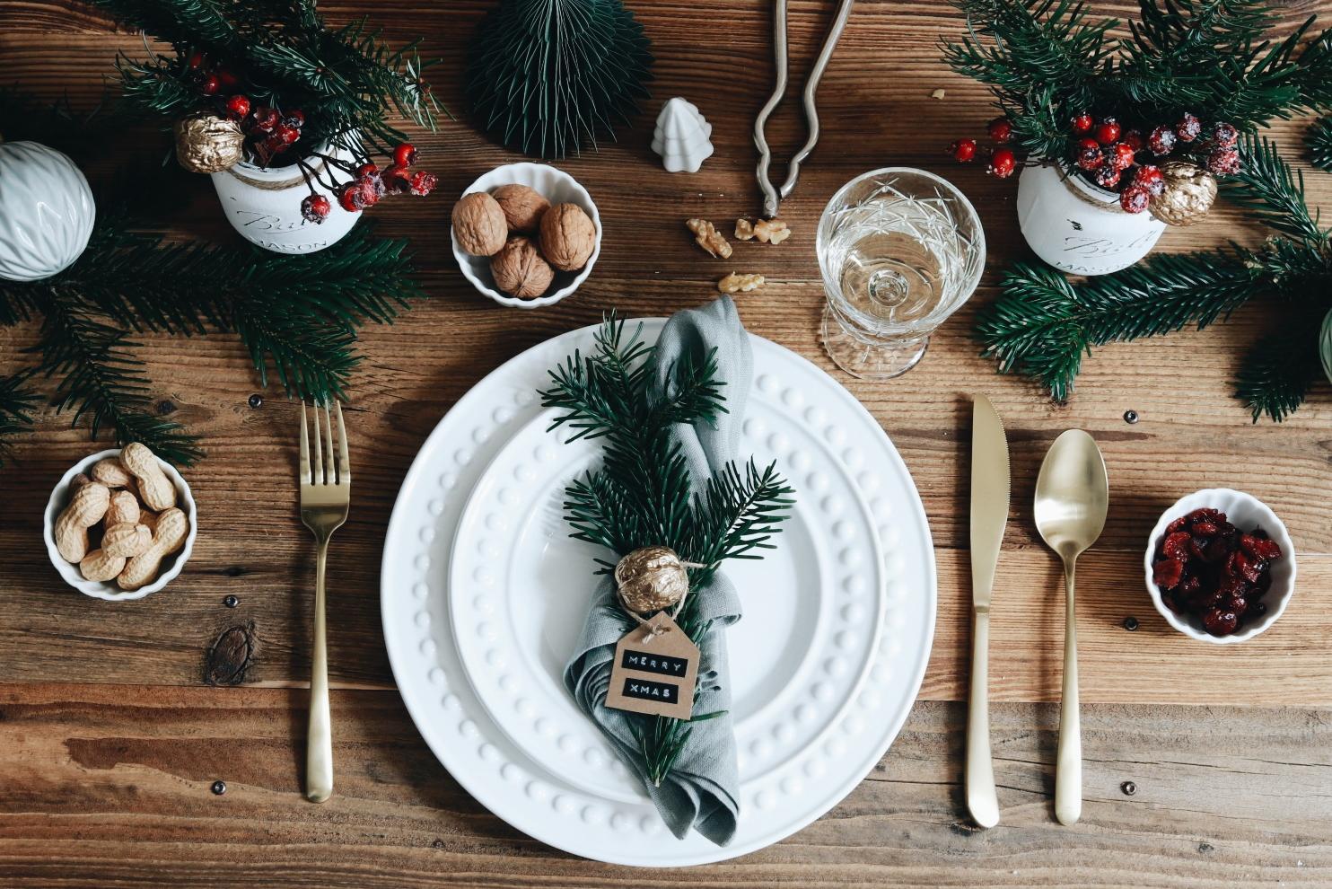 Weihnachtliche Tischdekoration & Geschenkideen mit Seeberger