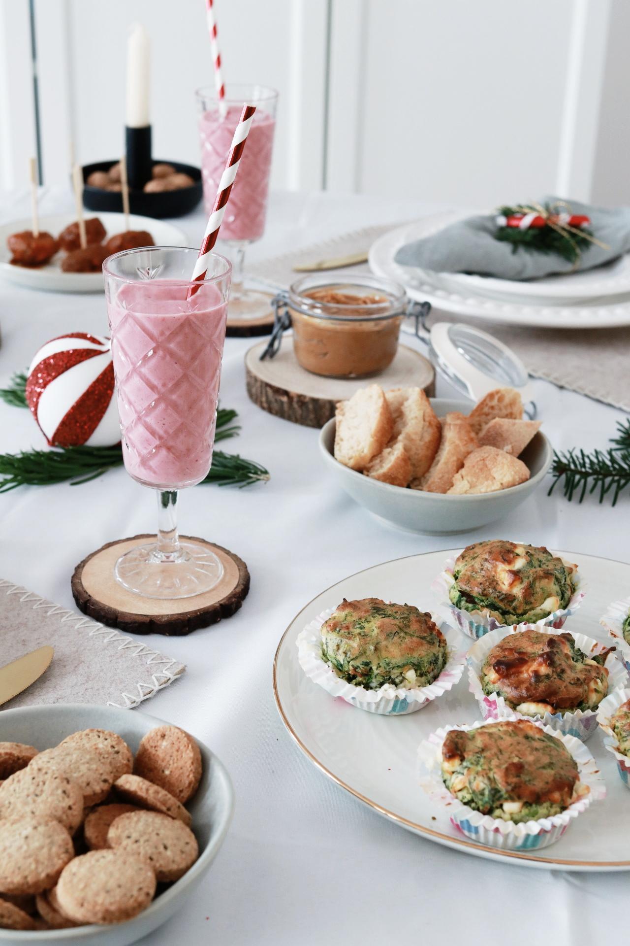5 leckere & vegetarische Brunch-Ideen für die Weihnachtsfeier