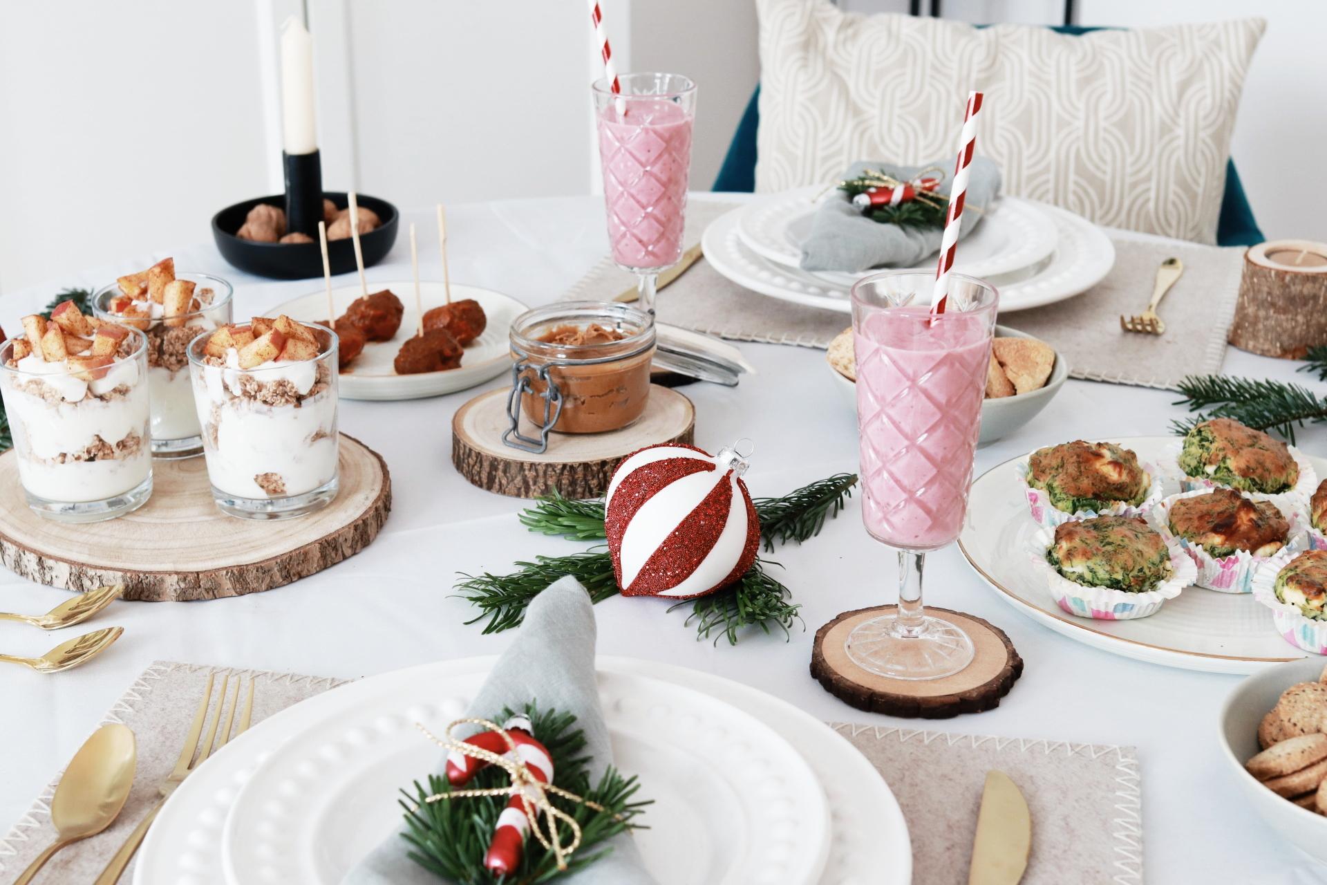 Party Food: Leckere Brunch-Ideen für deine Weihnachtsfeier