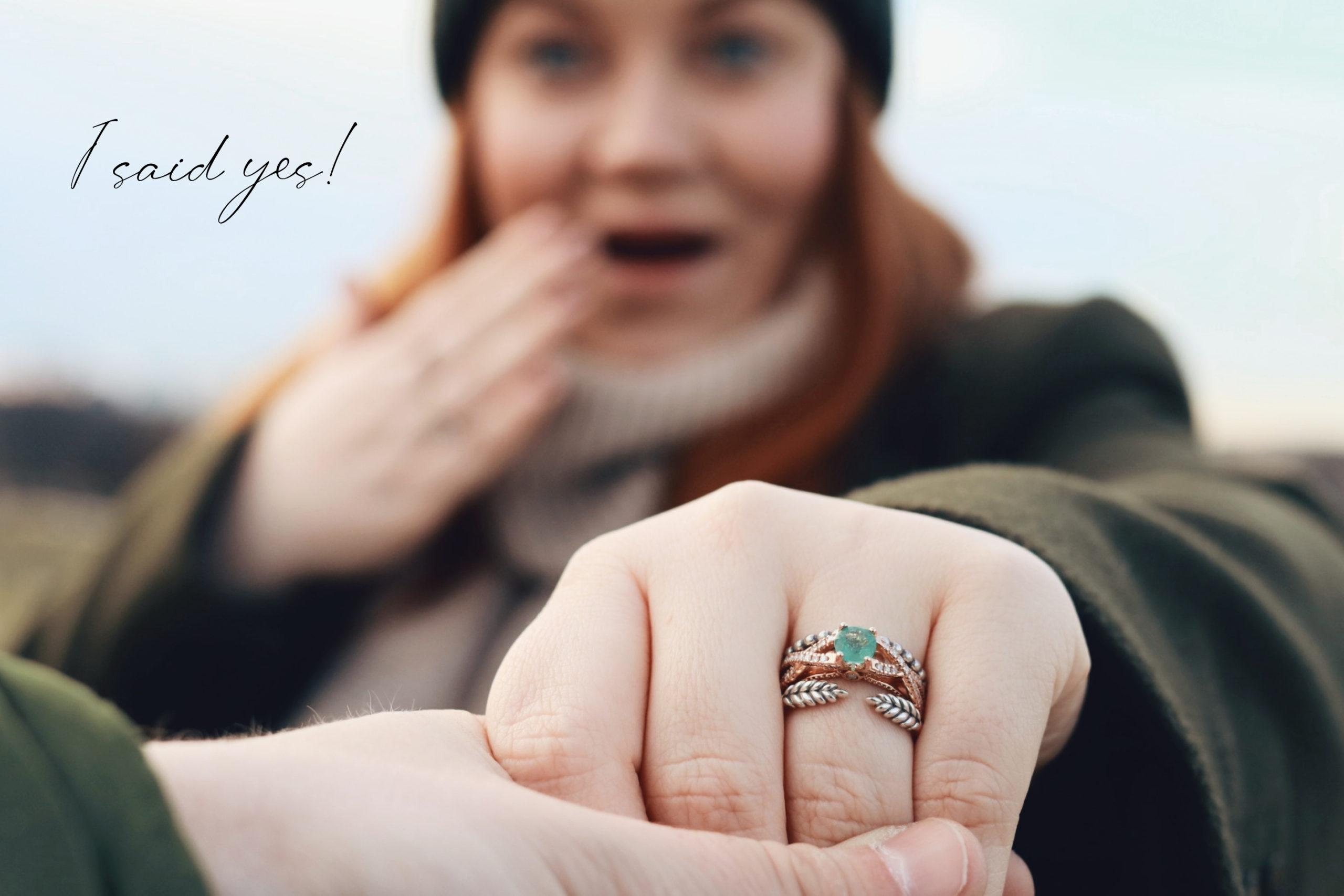 "I said ""yes!"""