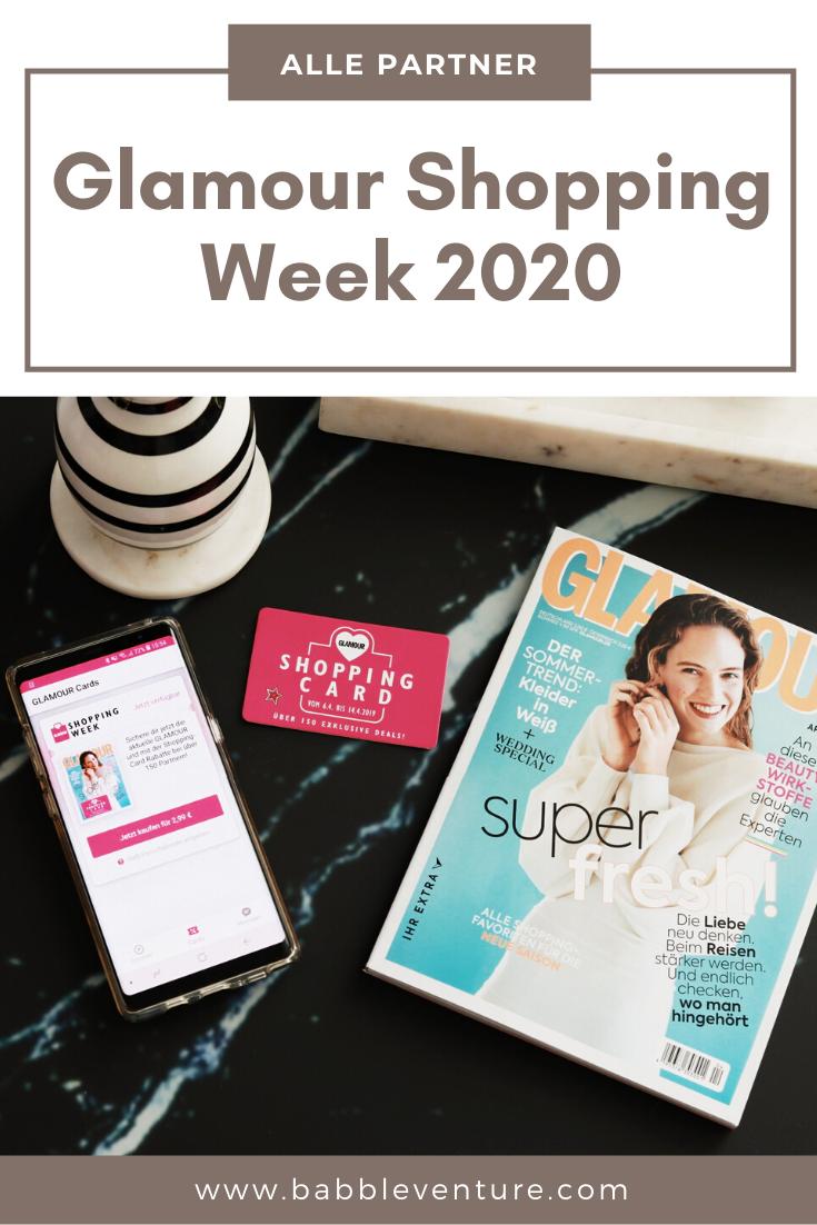 GLAMOUR Shopping Week Partner 2020