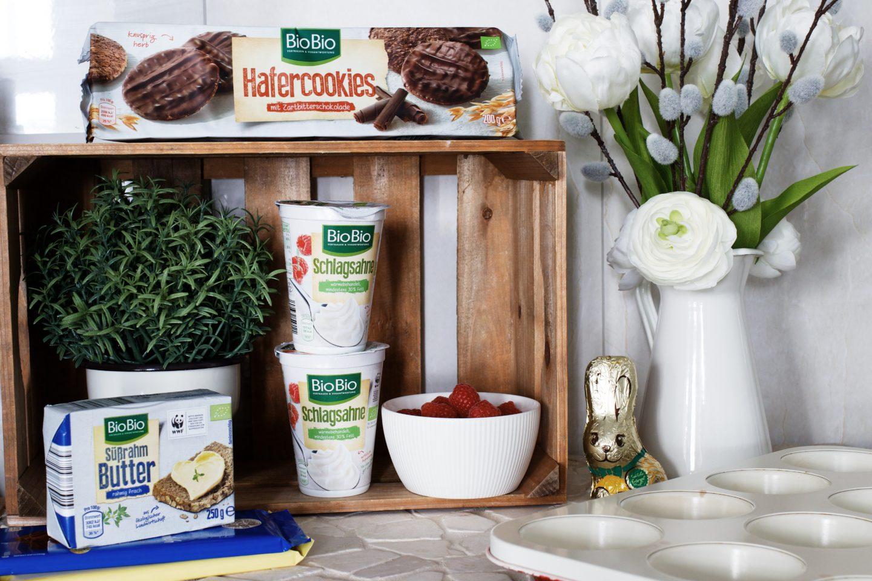 3 leckere Ideen für deine Ostertafel: Schokoladen Muffins no bake - ohne backen