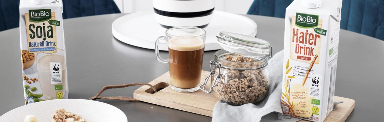 Healthy Eating: Vegane Milchalternativen für deinen Kaffee, Müsli & Co.