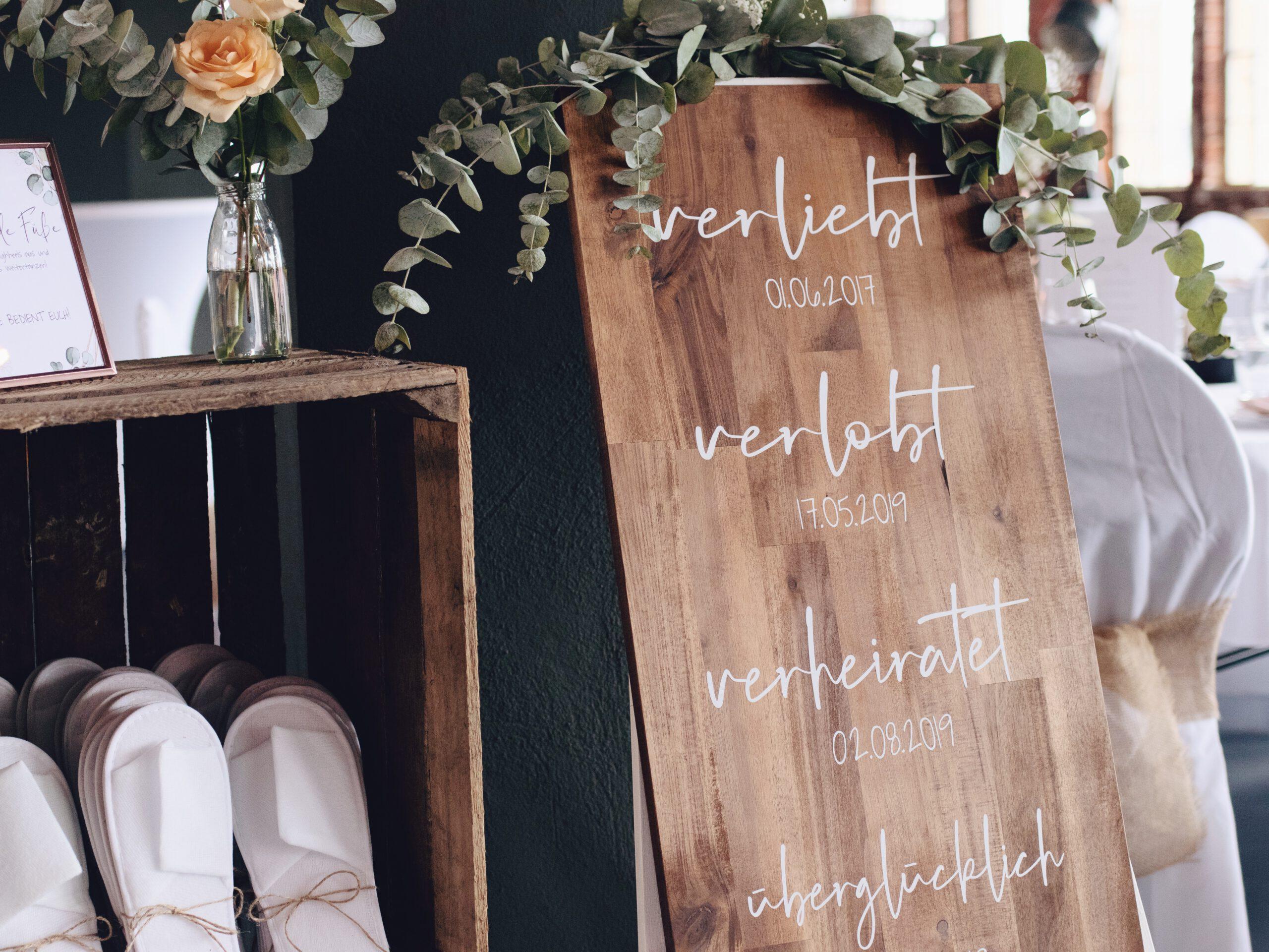 DIY-Hochzeit im Boho Stil mit Industrial Flair