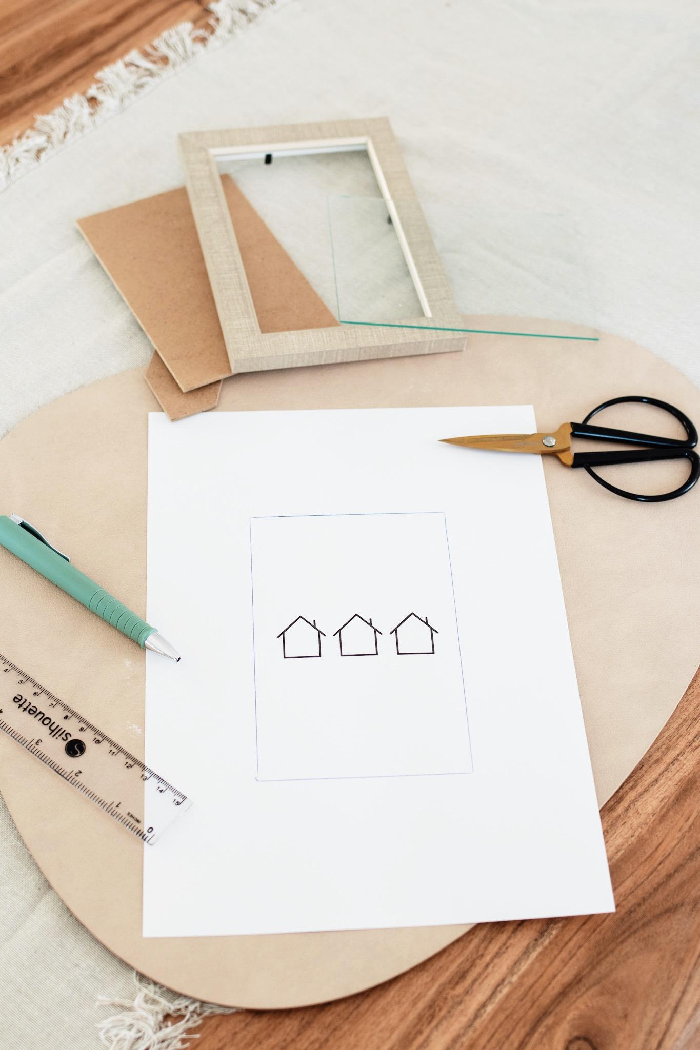 6 Winter-Prints zum Ausdrucken für dein Zuhause Bastelanleitung