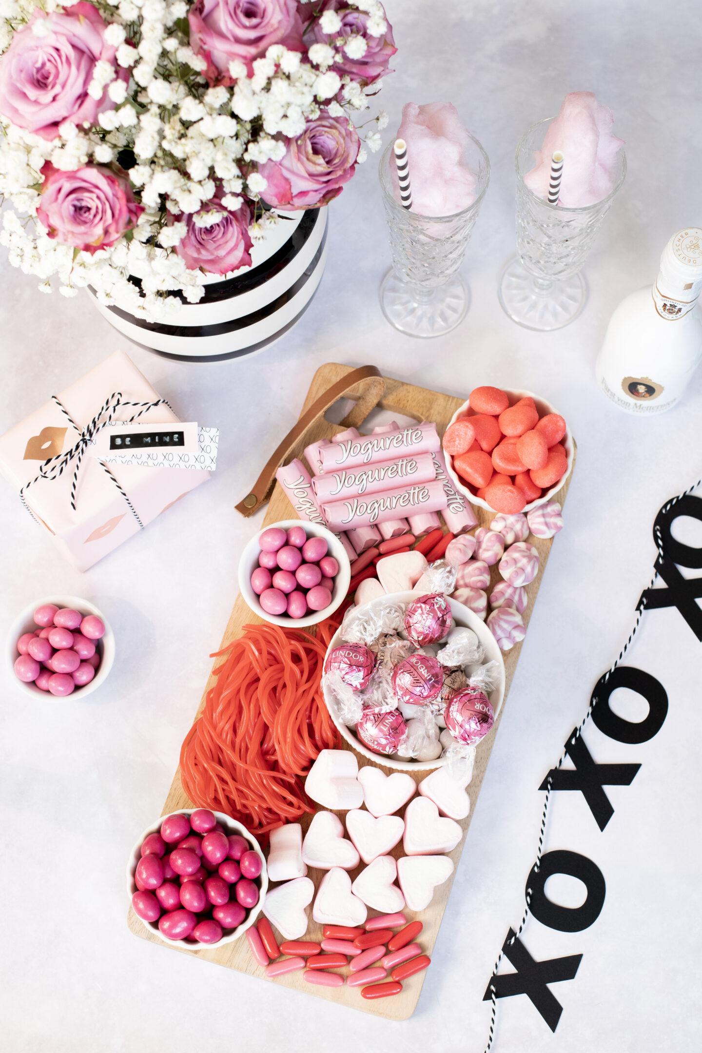 Das Candy Board: Süße Überraschung zum Valentinstag