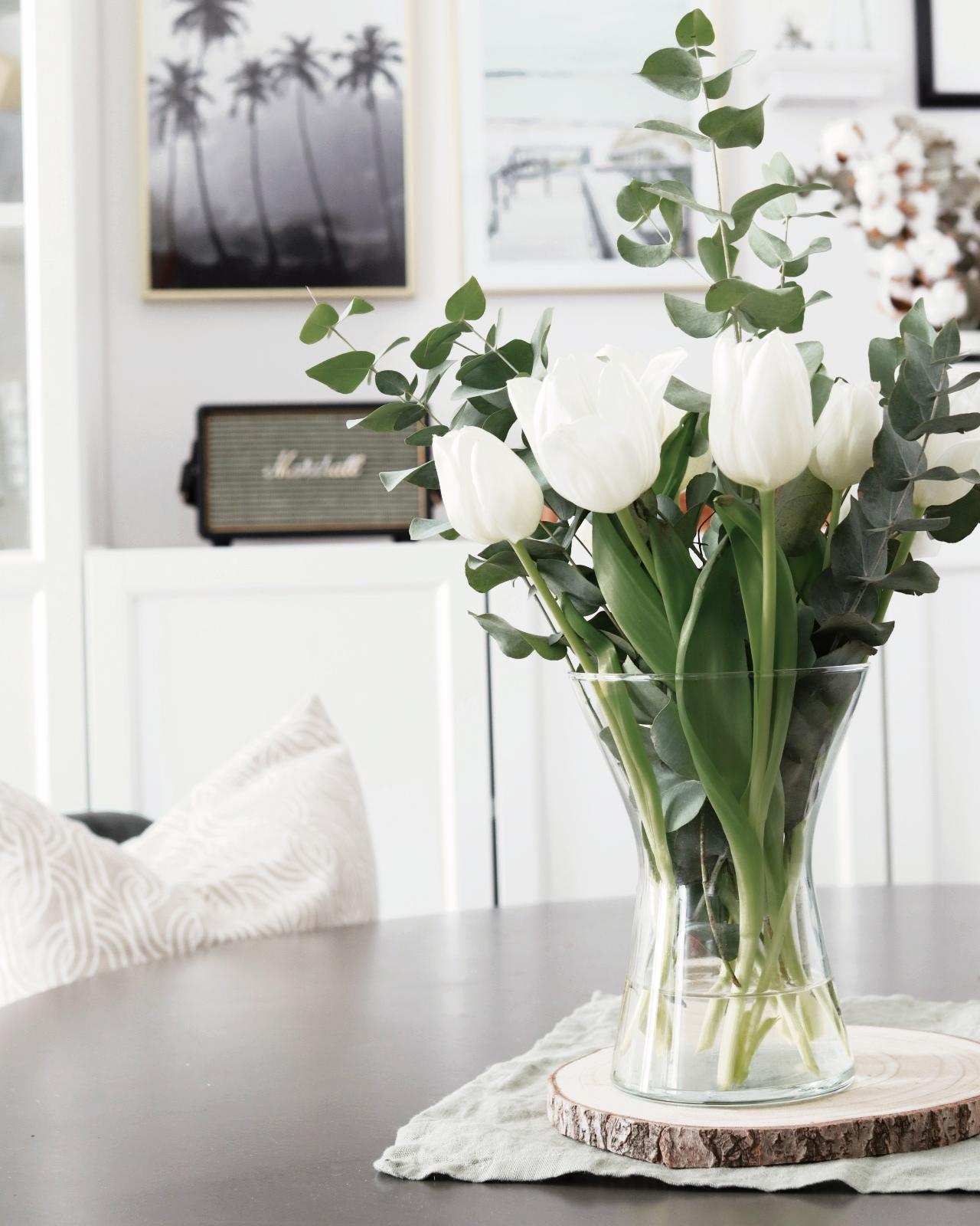 Die schönsten Vasen für Tulpen.