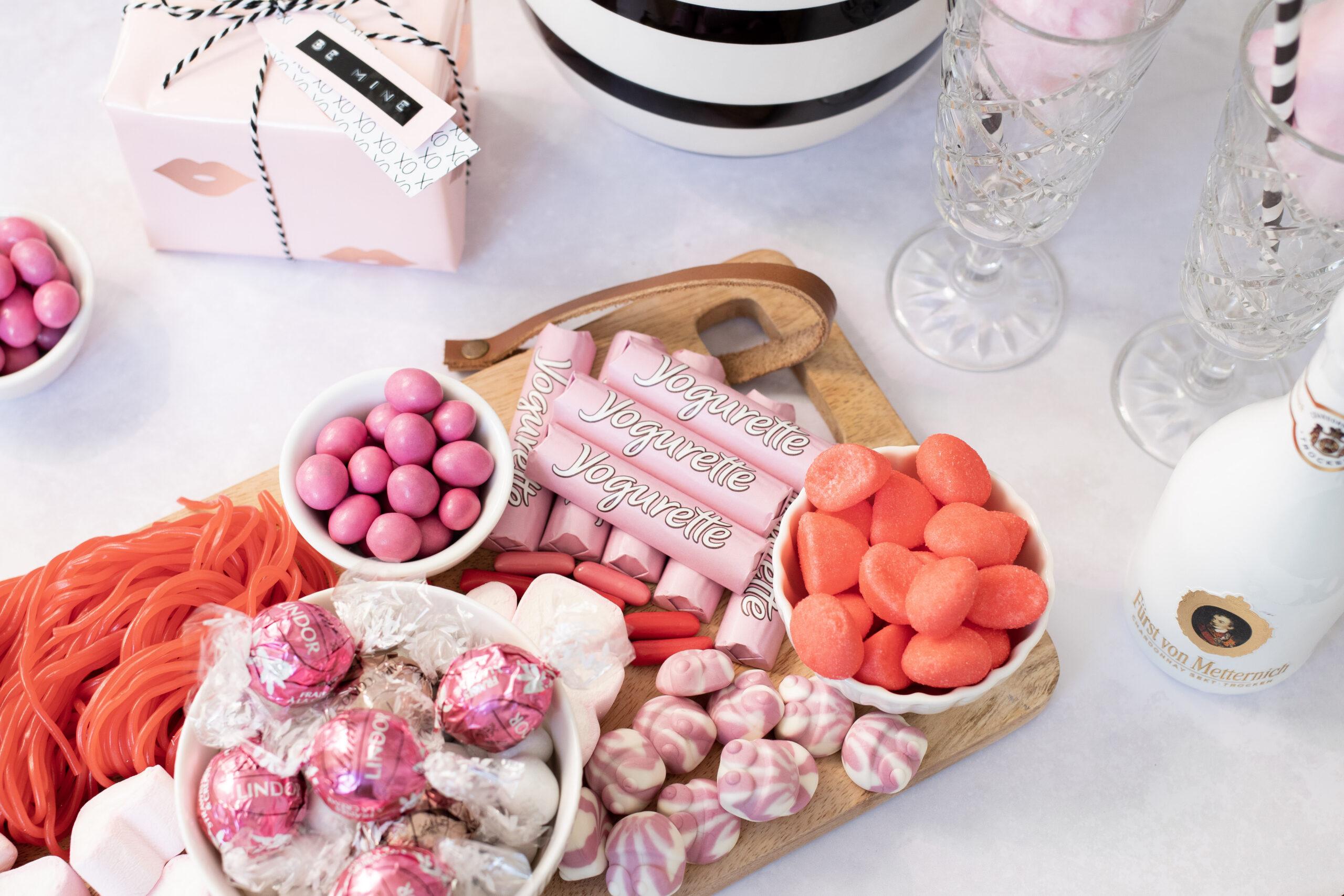 Süße Überraschung zum Valentinstag: Das Candy Board