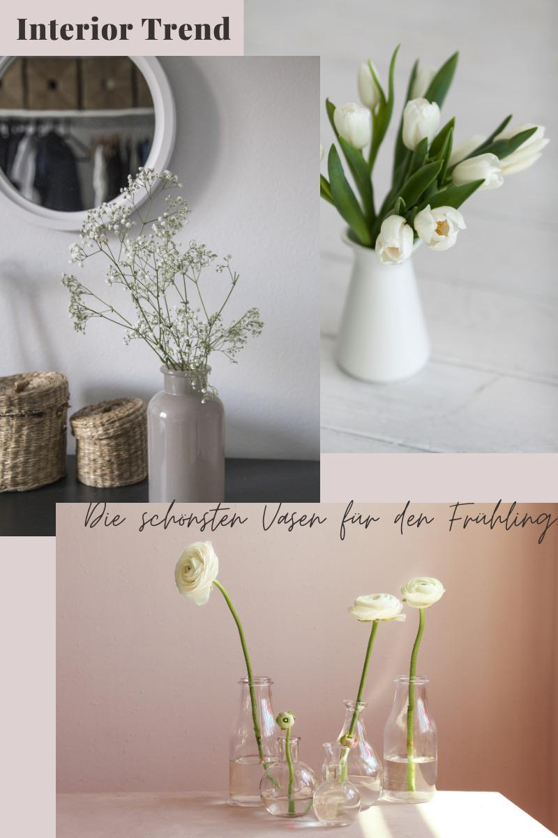 Finde hier die schönsten Vasen für den Frühling