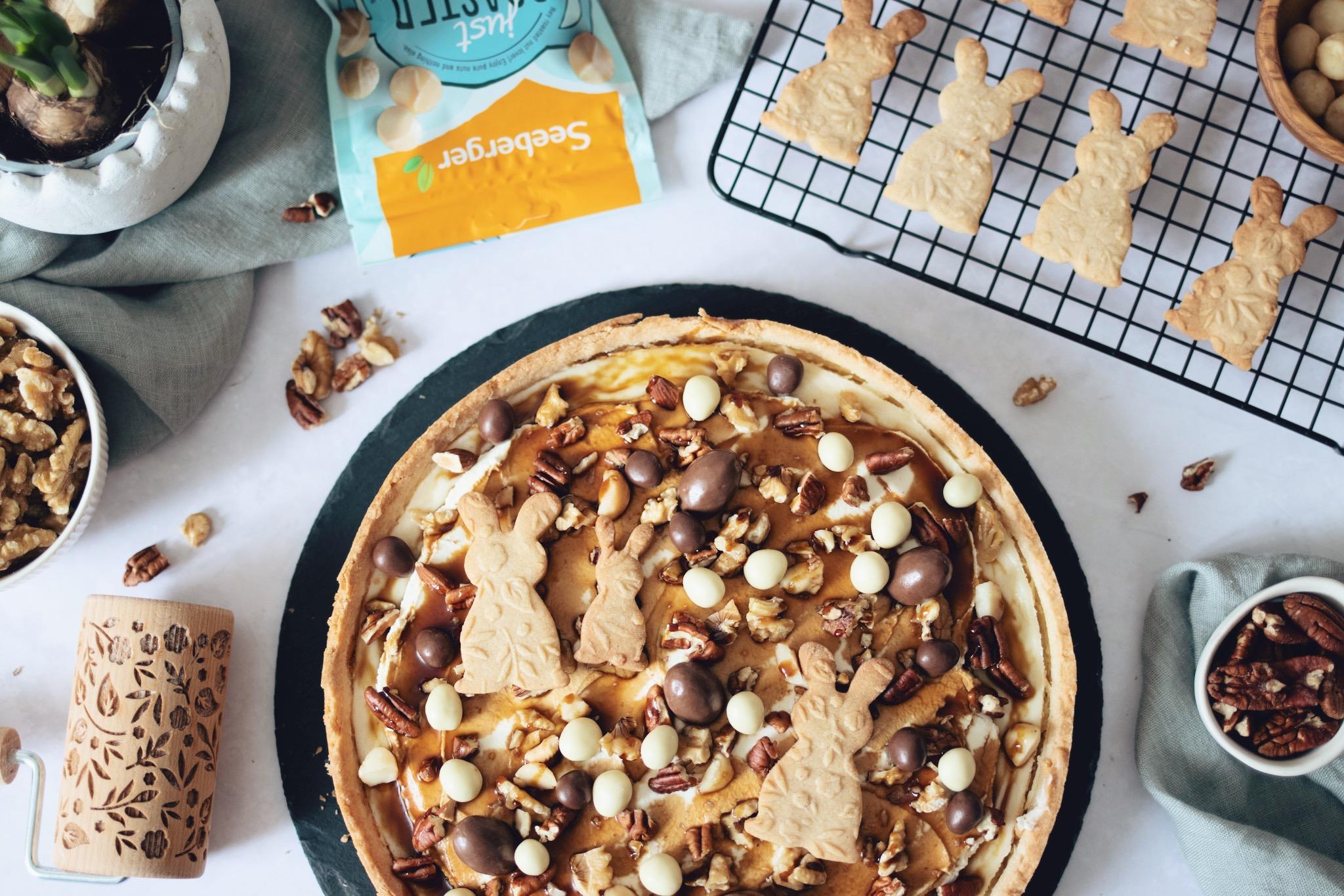 Rezept: Nuss-Karamell-Cheesecake