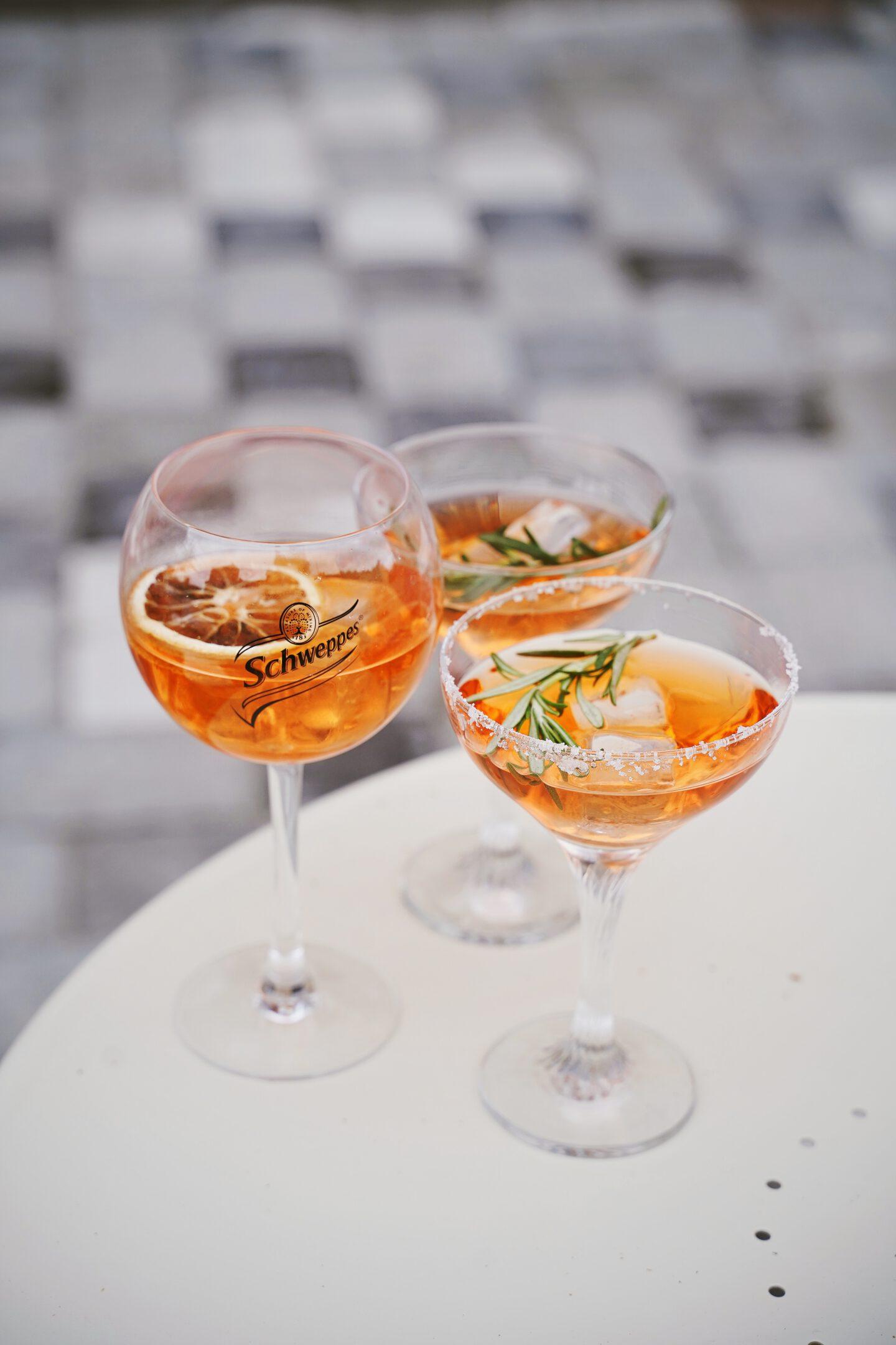Sommerdrink Rezept: Aperol Fruity Lemon Spritz